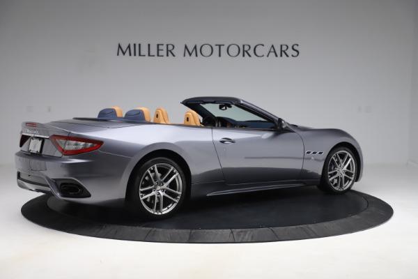 Used 2018 Maserati GranTurismo Sport Convertible for sale Sold at Alfa Romeo of Westport in Westport CT 06880 8