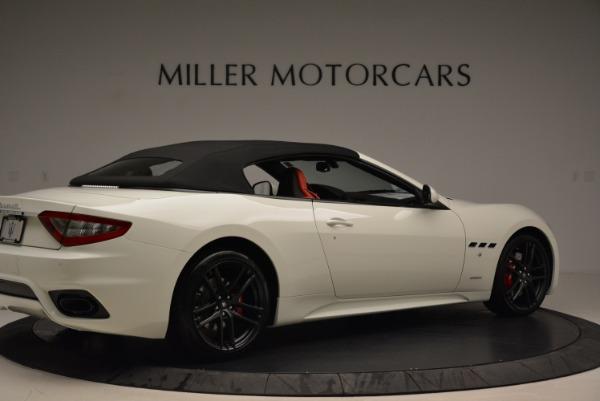 New 2018 Maserati GranTurismo Sport Convertible for sale Sold at Alfa Romeo of Westport in Westport CT 06880 9