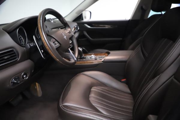 Used 2018 Maserati Levante S Q4 GranLusso for sale $67,900 at Alfa Romeo of Westport in Westport CT 06880 13