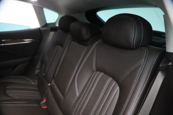 Used 2018 Maserati Levante S Q4 GranLusso for sale $67,900 at Alfa Romeo of Westport in Westport CT 06880 18