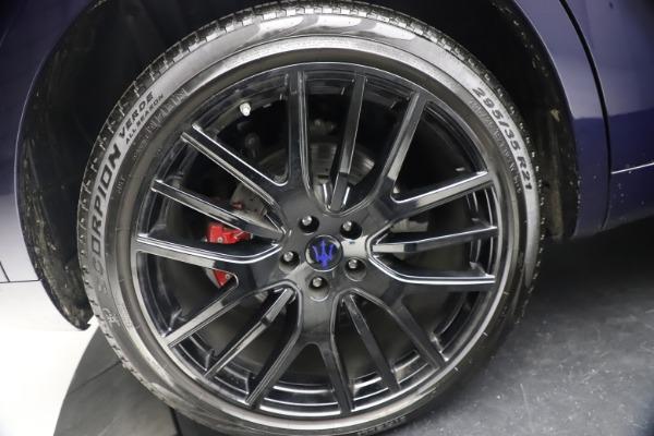 Used 2018 Maserati Levante S Q4 GranLusso for sale $67,900 at Alfa Romeo of Westport in Westport CT 06880 26