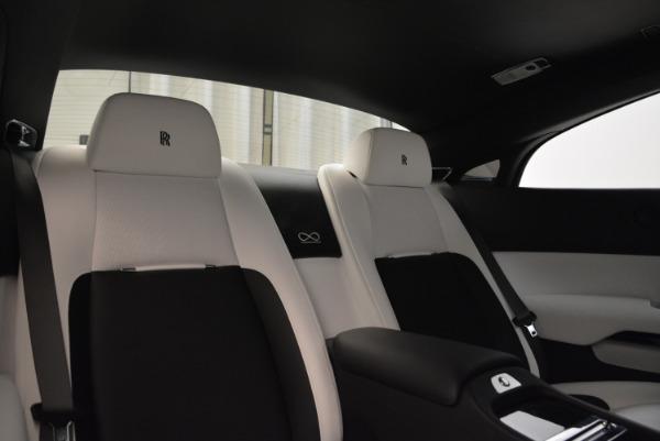 Used 2017 Rolls-Royce Wraith Black Badge for sale Sold at Alfa Romeo of Westport in Westport CT 06880 27