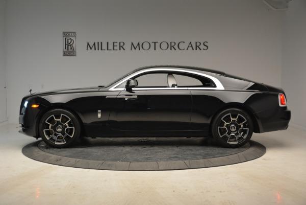 Used 2017 Rolls-Royce Wraith Black Badge for sale Sold at Alfa Romeo of Westport in Westport CT 06880 3