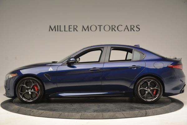 New 2018 Alfa Romeo Giulia Quadrifoglio for sale Sold at Alfa Romeo of Westport in Westport CT 06880 3