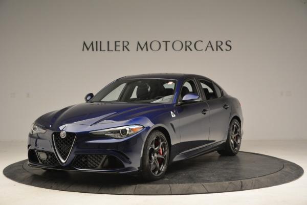 New 2018 Alfa Romeo Giulia Quadrifoglio for sale Sold at Alfa Romeo of Westport in Westport CT 06880 1