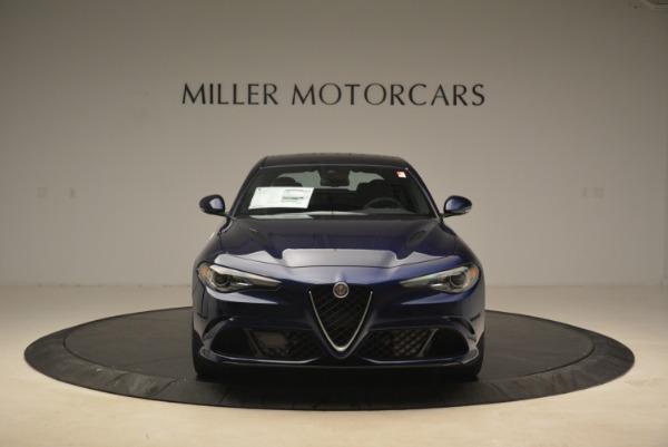New 2018 Alfa Romeo Giulia Quadrifoglio for sale Sold at Alfa Romeo of Westport in Westport CT 06880 12