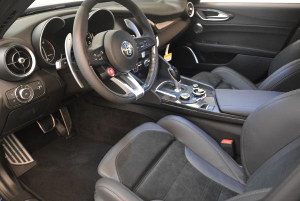 New 2018 Alfa Romeo Giulia Quadrifoglio for sale Sold at Alfa Romeo of Westport in Westport CT 06880 13