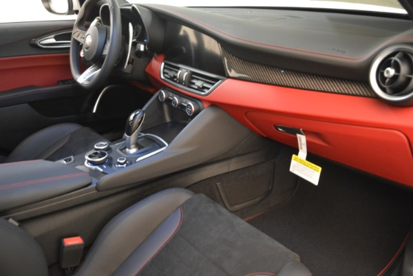 New 2018 Alfa Romeo Giulia Quadrifoglio for sale Sold at Alfa Romeo of Westport in Westport CT 06880 19
