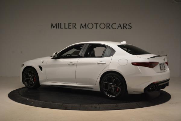 New 2018 Alfa Romeo Giulia Quadrifoglio for sale Sold at Alfa Romeo of Westport in Westport CT 06880 4