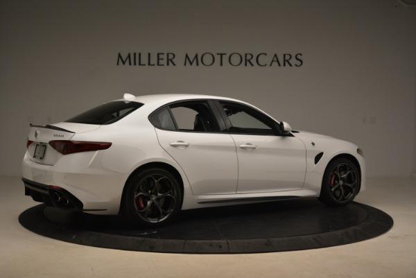 New 2018 Alfa Romeo Giulia Quadrifoglio for sale Sold at Alfa Romeo of Westport in Westport CT 06880 8