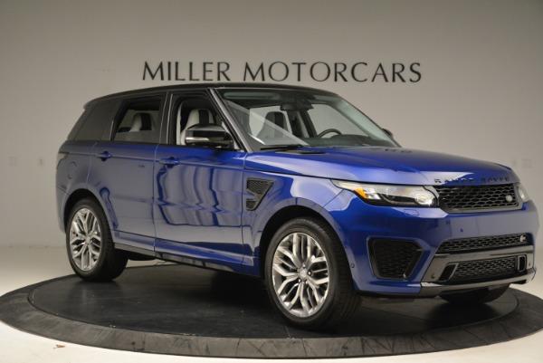 Used 2015 Land Rover Range Rover Sport SVR for sale Sold at Alfa Romeo of Westport in Westport CT 06880 10