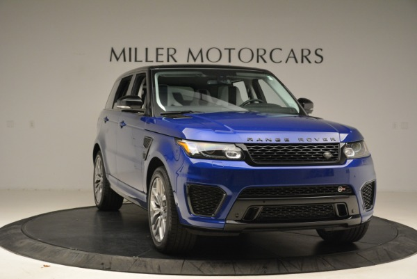 Used 2015 Land Rover Range Rover Sport SVR for sale Sold at Alfa Romeo of Westport in Westport CT 06880 11
