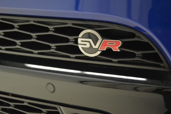 Used 2015 Land Rover Range Rover Sport SVR for sale Sold at Alfa Romeo of Westport in Westport CT 06880 13