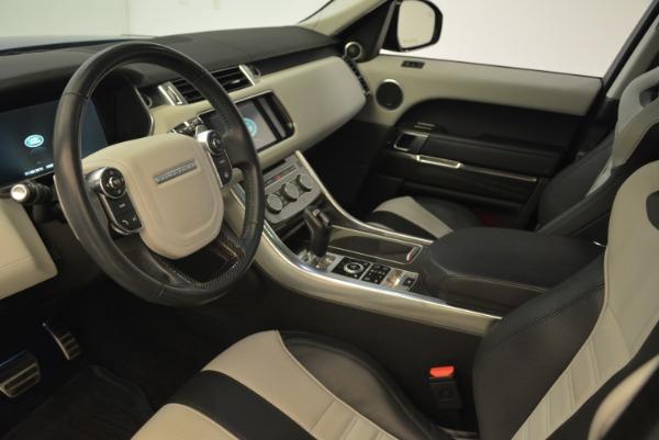 Used 2015 Land Rover Range Rover Sport SVR for sale Sold at Alfa Romeo of Westport in Westport CT 06880 15