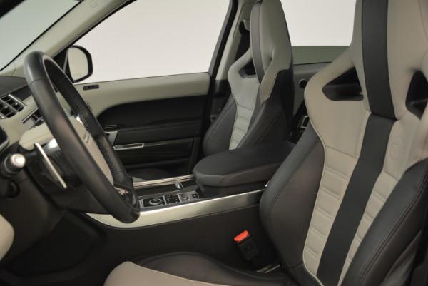 Used 2015 Land Rover Range Rover Sport SVR for sale Sold at Alfa Romeo of Westport in Westport CT 06880 16