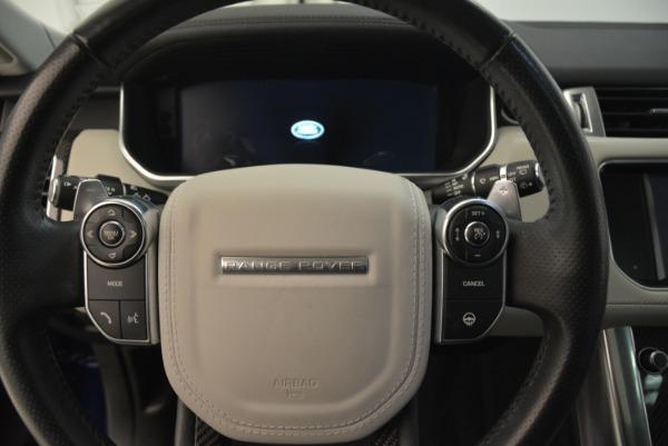 Used 2015 Land Rover Range Rover Sport SVR for sale Sold at Alfa Romeo of Westport in Westport CT 06880 19