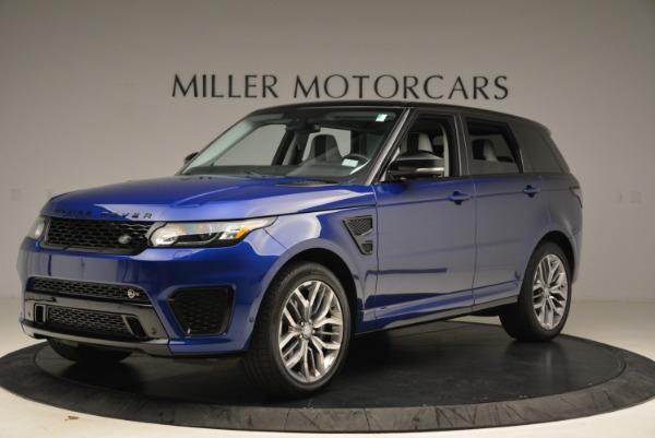 Used 2015 Land Rover Range Rover Sport SVR for sale Sold at Alfa Romeo of Westport in Westport CT 06880 2