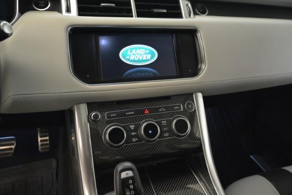 Used 2015 Land Rover Range Rover Sport SVR for sale Sold at Alfa Romeo of Westport in Westport CT 06880 20