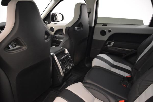 Used 2015 Land Rover Range Rover Sport SVR for sale Sold at Alfa Romeo of Westport in Westport CT 06880 21