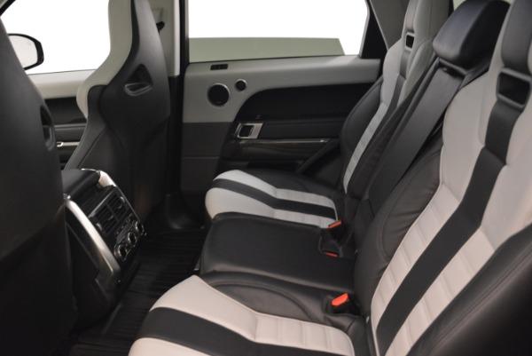 Used 2015 Land Rover Range Rover Sport SVR for sale Sold at Alfa Romeo of Westport in Westport CT 06880 22