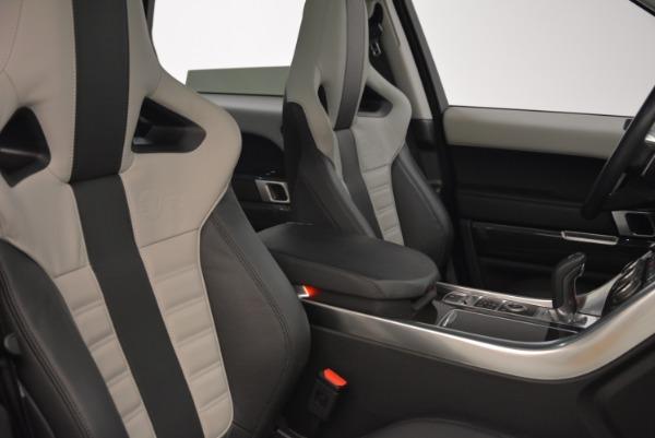 Used 2015 Land Rover Range Rover Sport SVR for sale Sold at Alfa Romeo of Westport in Westport CT 06880 23