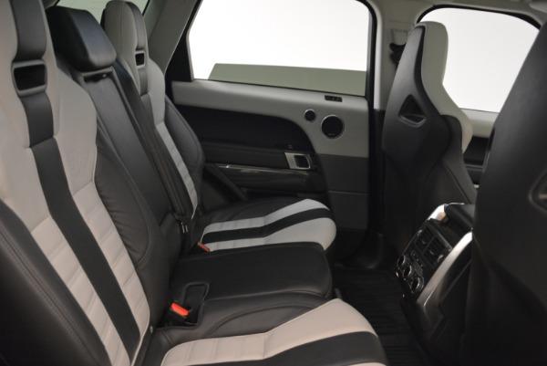 Used 2015 Land Rover Range Rover Sport SVR for sale Sold at Alfa Romeo of Westport in Westport CT 06880 24