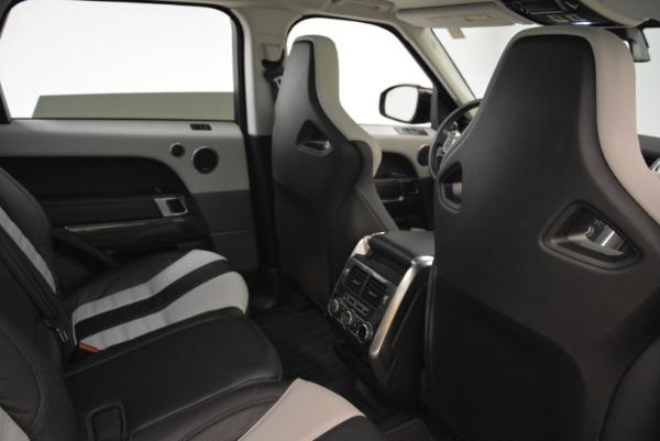Used 2015 Land Rover Range Rover Sport SVR for sale Sold at Alfa Romeo of Westport in Westport CT 06880 25
