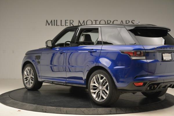 Used 2015 Land Rover Range Rover Sport SVR for sale Sold at Alfa Romeo of Westport in Westport CT 06880 4