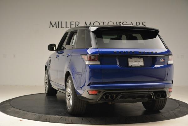 Used 2015 Land Rover Range Rover Sport SVR for sale Sold at Alfa Romeo of Westport in Westport CT 06880 5