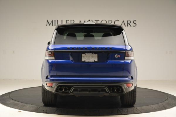 Used 2015 Land Rover Range Rover Sport SVR for sale Sold at Alfa Romeo of Westport in Westport CT 06880 6