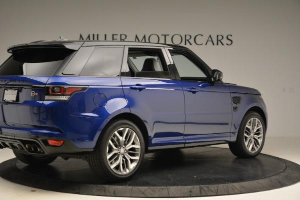 Used 2015 Land Rover Range Rover Sport SVR for sale Sold at Alfa Romeo of Westport in Westport CT 06880 8