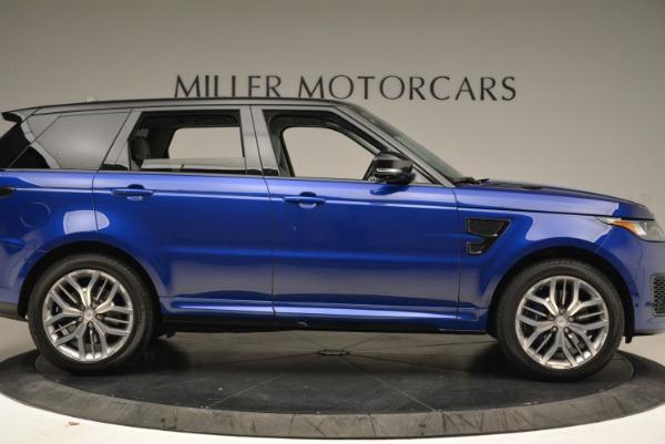 Used 2015 Land Rover Range Rover Sport SVR for sale Sold at Alfa Romeo of Westport in Westport CT 06880 9