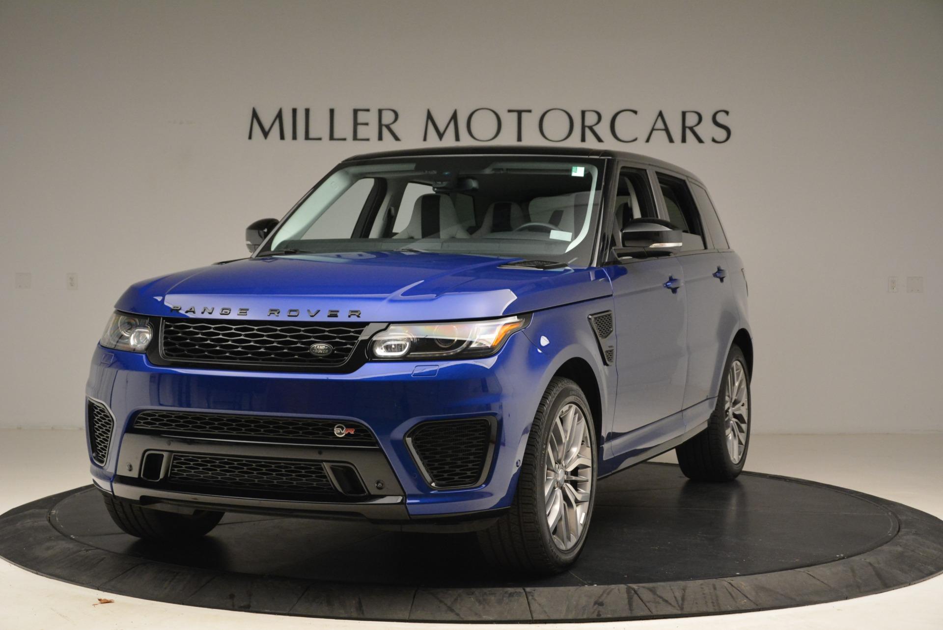 Used 2015 Land Rover Range Rover Sport SVR for sale Sold at Alfa Romeo of Westport in Westport CT 06880 1