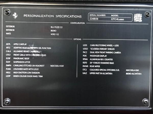 Used 2017 Ferrari GTC4Lusso for sale Sold at Alfa Romeo of Westport in Westport CT 06880 24