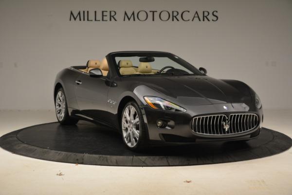 Used 2013 Maserati GranTurismo Convertible for sale Sold at Alfa Romeo of Westport in Westport CT 06880 11