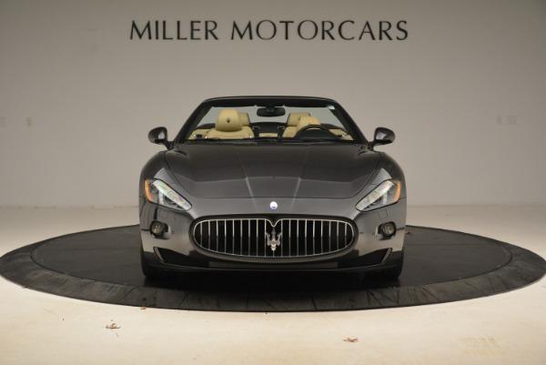 Used 2013 Maserati GranTurismo Convertible for sale Sold at Alfa Romeo of Westport in Westport CT 06880 12