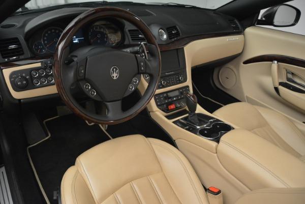 Used 2013 Maserati GranTurismo Convertible for sale Sold at Alfa Romeo of Westport in Westport CT 06880 25