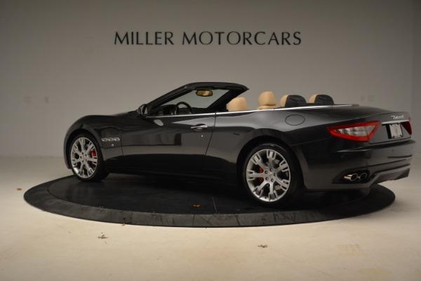 Used 2013 Maserati GranTurismo Convertible for sale Sold at Alfa Romeo of Westport in Westport CT 06880 4