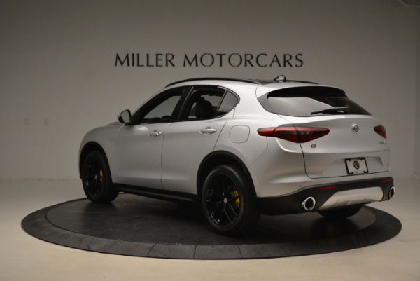 New 2018 Alfa Romeo Stelvio Ti Sport Q4 for sale Sold at Alfa Romeo of Westport in Westport CT 06880 5