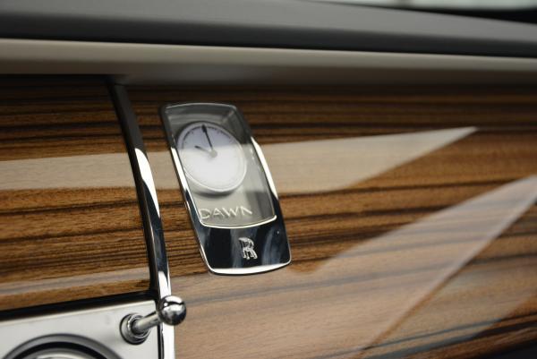 New 2016 Rolls-Royce Dawn for sale Sold at Alfa Romeo of Westport in Westport CT 06880 26