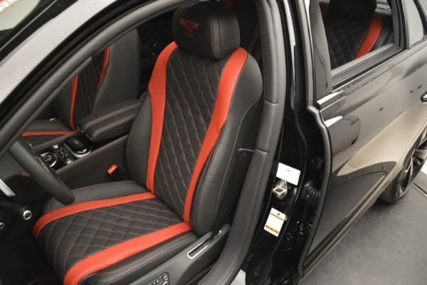 New 2018 Bentley Flying Spur V8 S Black Edition for sale Sold at Alfa Romeo of Westport in Westport CT 06880 14