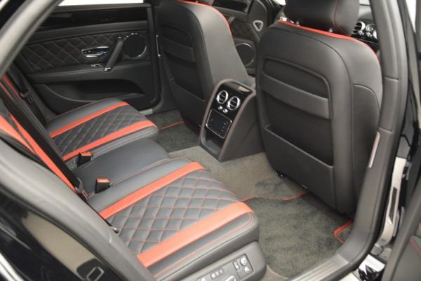 New 2018 Bentley Flying Spur V8 S Black Edition for sale Sold at Alfa Romeo of Westport in Westport CT 06880 21