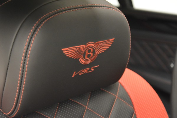 New 2018 Bentley Flying Spur V8 S Black Edition for sale Sold at Alfa Romeo of Westport in Westport CT 06880 25