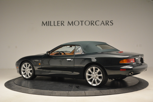 Used 2003 Aston Martin DB7 Vantage Volante for sale Sold at Alfa Romeo of Westport in Westport CT 06880 16