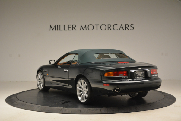 Used 2003 Aston Martin DB7 Vantage Volante for sale Sold at Alfa Romeo of Westport in Westport CT 06880 17