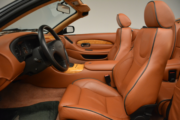 Used 2003 Aston Martin DB7 Vantage Volante for sale Sold at Alfa Romeo of Westport in Westport CT 06880 23