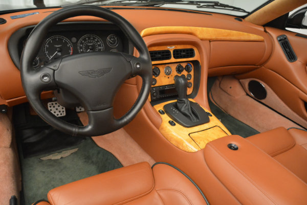 Used 2003 Aston Martin DB7 Vantage Volante for sale Sold at Alfa Romeo of Westport in Westport CT 06880 24
