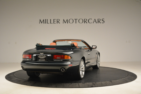Used 2003 Aston Martin DB7 Vantage Volante for sale Sold at Alfa Romeo of Westport in Westport CT 06880 7