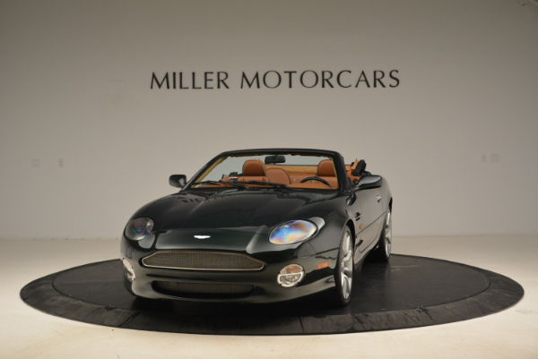 Used 2003 Aston Martin DB7 Vantage Volante for sale Sold at Alfa Romeo of Westport in Westport CT 06880 1