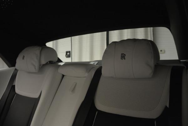 Used 2017 Rolls-Royce Ghost Black Badge for sale Sold at Alfa Romeo of Westport in Westport CT 06880 23